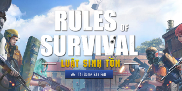 Rules of Survival - Tựa game sinh tồn hấp dẫn